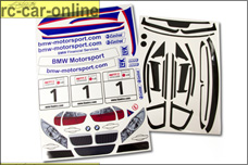 8148 FG Fahrzeug-Dekorbogen BMW 320si WTC