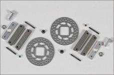 8450/08, FG Conversion kit to Tuning disk brake f./r., set