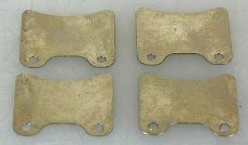 9439/37, FG Spacer plate for brake pad, 4 pcs.