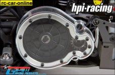 bj038 GPM - HPI Aluminium Ritzelschutz mit Sichtfenster