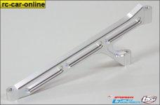LO5T008 GPM Aluminium Chassisstrebe für Losi 5ive-T, 5i
