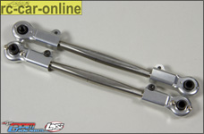 LO5T057S GPM Losi 5ive-T rear camber rods