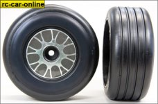 GWK55E Ellegi Formula 1 extra soft rain front tires, glued