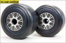 GWK66B Ellegi Formula 1 soft rear tires, glued