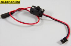 LOSB0897 Losi HD On/Off Switch w/20AWG Wre&Gld Plated Pl
