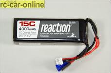 DYNB0501 7.4V 4000mAh 2S 15C LiPo Receiver Pack