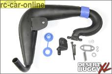 LOS55000 Losi Tuningschalldämpfer 23-30 cm³ Benzin