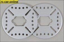 LOSB3234 Losi Aluminium Bremsscheibe für 5ive-T und Min