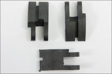 Mielke 5449 Carbon clutch pads single, 3 pcs.