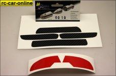 6010 Fahrzeug-Dekorbogen für Mielke Audi A4 BTCC Kaross
