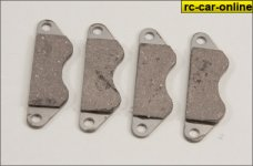 s054320/01 Brake pads for Smartech tuning brake, 4 St