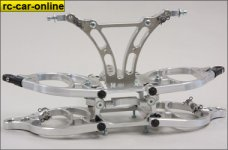y0906 HT  Monster / Stadium alloy front suspension kit 2WD -