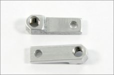 y0002 Bowden cable mount 1/6 and Formula 1, 2 pcs.