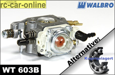 Carburetor Walbro WT 603B with choke normal/ball-raced
