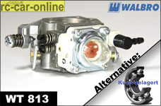 Carburetor Walbro WT 813 normal/ball-raced