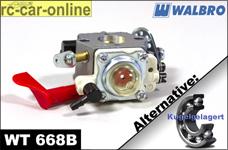 Walbro Vergaser WT 668B/668C mit Choke normal/kugelgelagert