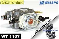 Walbro Vergaser WT 1107 mit Choke normal/kugelgelagert