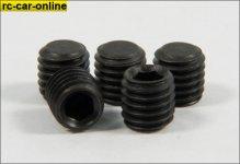 y0190/01 Grub screws M8 x 8mm - 5pcs