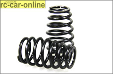 y0455 HT Cask shaped springs for Mecatech Klick-Shocks, blac