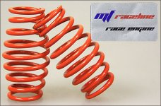 y0500 mf-RaceLine Tonnen-Feder, orange 2,6 mm, 2 St