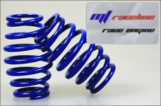 y0501 mf-RaceLine cask shaped springs, blue 2,9 mm, 2 pcs.
