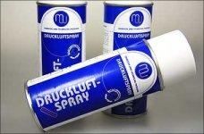 y0502 Druckluftspray - Brennbar - 400 ml, 1 St.