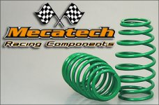 2009-00 Cask shaped springs for Mecatech Klick-Shocks, dark