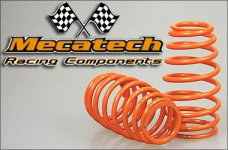 2009-01 Cask shaped springs for Mecatech Klick-Shocks, orang