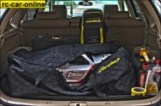 y0558 HT Car Bag XXL for Losi 5ive-T/2.0, Mini 5ive WRC, Des