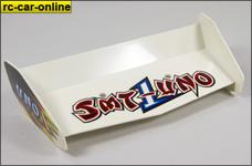 y0703/01 Original Smartech Uno 1:6er Heckspoiler in wei&szli