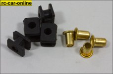y0750/03 Rubber grommets with inserts for Orange Power and S