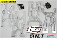 y0777/01 GPM / Losi 5ive-T a-arm set front and rear, set