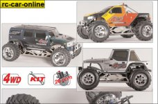 y0961/02 FG manuals for Monster/Stadium Competition 4WD, 1 S