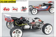 y0962/02 FG manuals set Off-Road Buggy 4WD Competition Engli
