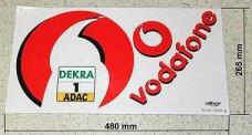 Team-Dekorbogen Vodafone Mercedes, y1012, Set