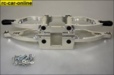 HT Aluminum front suspension for Carson / Smartech C5, UNO /