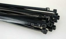 y1064 Cable ties, black, 202 x 2.5 mm, 20 pcs.