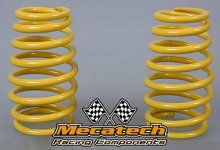 2009-04 Cask shaped springs for Mecatech Klick-Shocks, yello