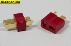 y1301 T-Stecker/Buchse mit 4 mm Federkontakt