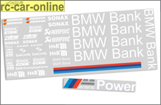 y1329/03 Team-Dekorbogen BMW-Bank für BMW 320si WTCC