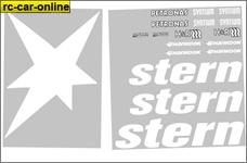 y3002 Stern DTM Team-Dekorbogen