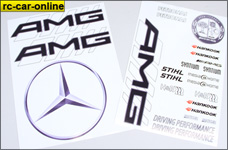 y3004 AMG DTM decal decals