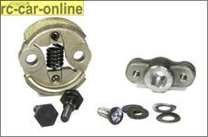 y5316/10, Kupplung komplett für Chung Yang Motoren, Set